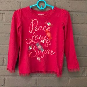 "baby GAP ""Peace Love & Sugar Top"